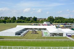 Chester Racecourse stock fotografie