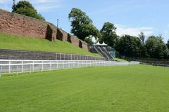 Chester Racecourse image stock
