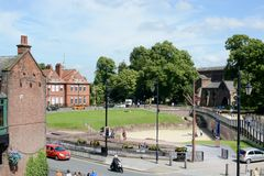 Chester Roman amphitheatre Stock Photos