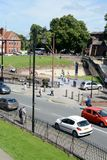 Chester Roman amphitheatre Royalty Free Stock Photography