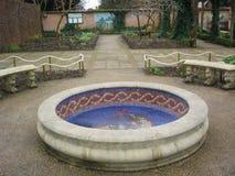 Chester Roman Garden stock fotografie