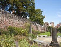 Chester Roman Gardens Images libres de droits