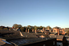 Chester Rooftops Royalty Free Stock Photography