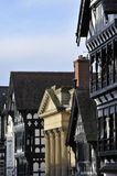 Chester rooftops royalty free stock photos