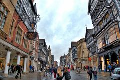 Chester Scenery Royaltyfri Bild