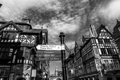 Chester shopping centre Royalty Free Stock Photo