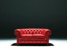 Chester soffa Arkivbild