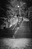 Chester Steps Stockbilder