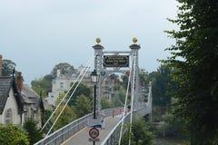 Chester-Suspendierung/Fußbrücke Lizenzfreies Stockbild
