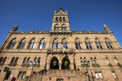 Chester Town Hall stock fotografie