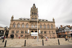 Chester Town Hall royalty-vrije stock foto