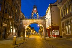 Eastgate Clock in Chester royalty free stock photo