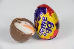 Cadbury`s Creme Egg royalty free stock photos