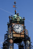 Chester - Victorian Clock - England Stock Photos