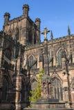 Chester War Memorial en Chester Cathedral stock fotografie