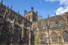 Chester War Memorial en Chester Cathedral royalty-vrije stock foto