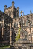 Chester War Memorial en Chester Cathedral royalty-vrije stock foto's