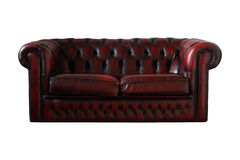 Chesterfield. On a white bg Royalty Free Stock Photography