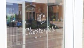Chesterfield centrum handlowe i Wydziałowi sklepy, St Louis Zdjęcie Royalty Free