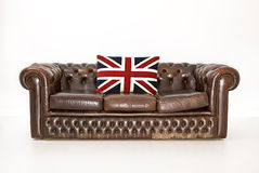 Chesterfield-Couch Lizenzfreie Stockfotografie