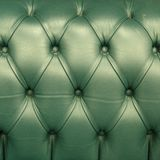 Chesterfield leather close-up Royalty Free Stock Images