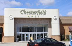 Chesterfield Mall, Chesterfield, Missouri Stock Images