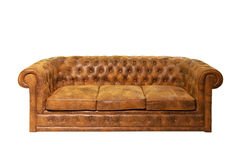 Chesterfield-Sofa Stockbild