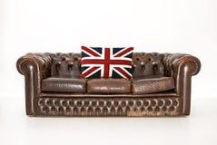 chesterfield soffa Royaltyfri Fotografi