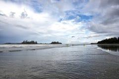 Chesterman Beach near Tofino Stock Image