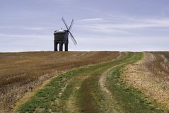 chesterton warwickshire风车 免版税图库摄影