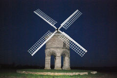 Chesterton windmill. Landmark in Warwickshire countryside,built circa 1870,November night,shot with Nikon d60 on manual Stock Photo