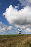 Chesterton Windmill, Warwickshire,England. Built in 1632, possibly designed by Inigo Jones, its structure and mechanism are unique Stock Image