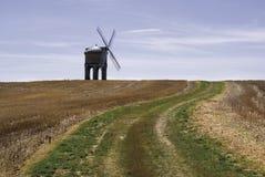 chestertonwarwickshire windmill Royaltyfri Fotografi