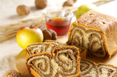 Chestnut cake Stock Images