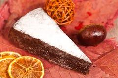 Chestnut cake Royalty Free Stock Photography