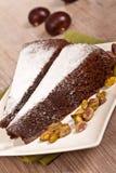 Chestnut cake Royalty Free Stock Images
