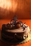 Chestnut cake Stock Photo