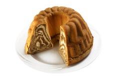 Chestnut cake Royalty Free Stock Photo
