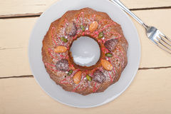 Chestnut cake bread dessert Stock Images