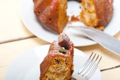 Chestnut cake bread dessert Stock Photo