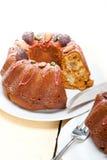 Chestnut cake bread dessert Royalty Free Stock Photos