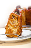 Chestnut cake bread dessert Royalty Free Stock Photography