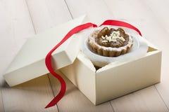 Chestnut cake Stock Photos