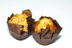 Chestnut cupcakes Stock Photo