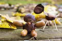 Chestnut Figures Royalty Free Stock Photos