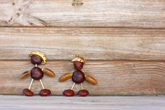 Chestnut guys Stock Image