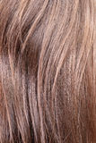 Chestnut hair closeup Royalty Free Stock Photos