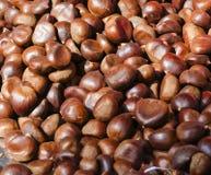 Chestnut at market Stock Images
