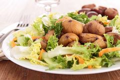 Free Chestnut Salad Stock Photo - 32454490