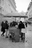 Chestnut Seller, Lisbon Royalty Free Stock Image